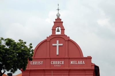 Christ Church Melaka, 1753. Malaysia