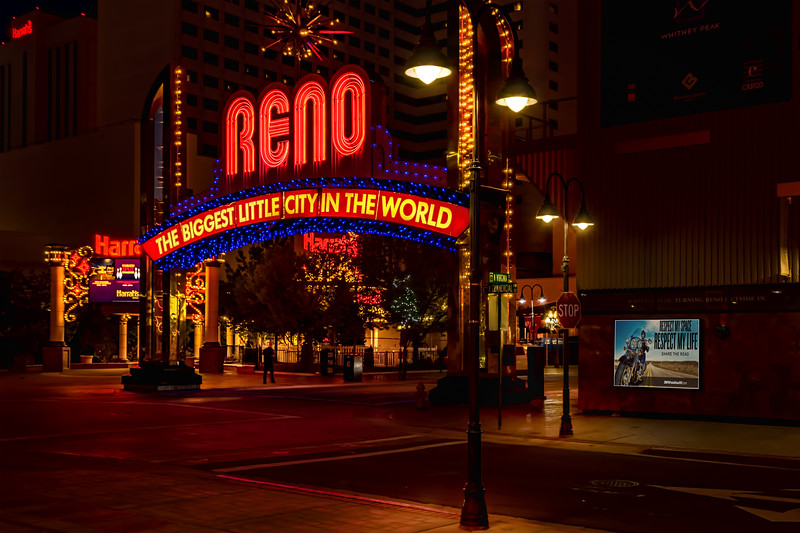 RENO CITY ARCH-RENO NEVADA