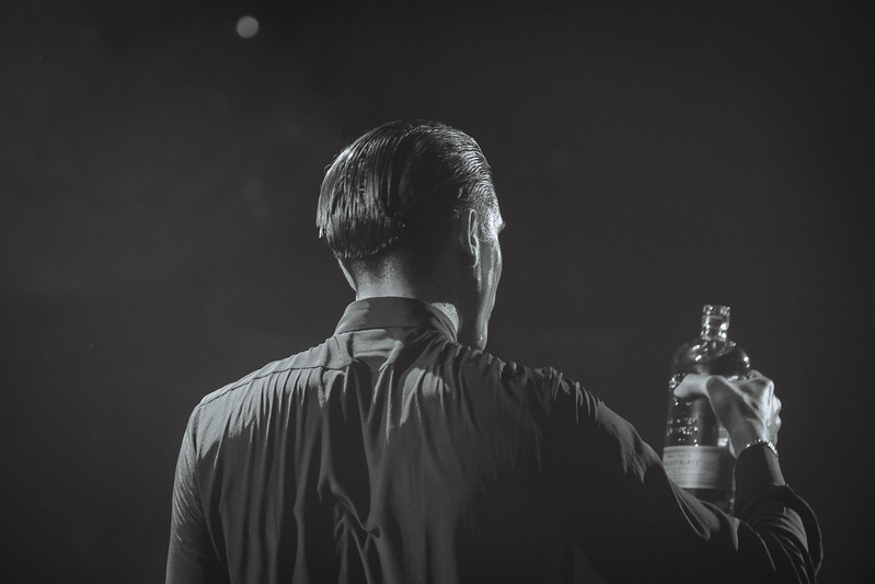 Reno Photographer Marcello Rostagni captures a photograph of G-Eazy performing for a sold out crowd in Reno.