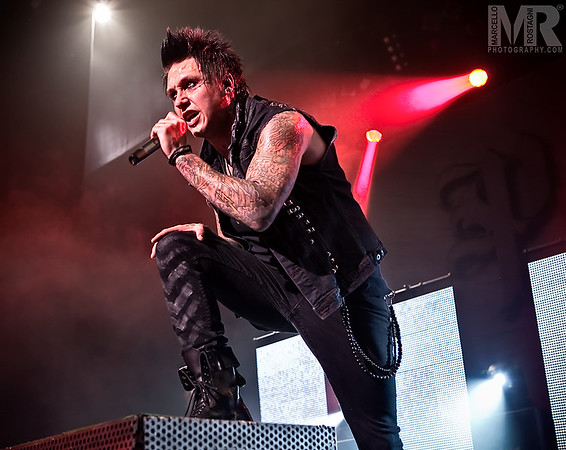 Photography of Jacoby and Papa Roach at a Concert and Celebrity performance in Reno NV.
