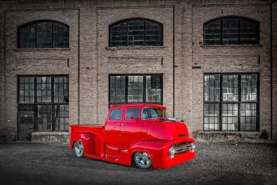 Advertisement photography created by Reno Photographer Marcello Rostagni for Classic Truck for client Hot August Nights.