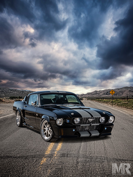 Advertisement Photography of Classic Mustang Cobra by Automotive Photographer Marcello Rostagni.