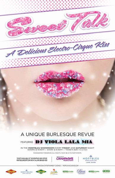 Reno Photographer photographs models lips coated with candy for Sweet Talk Advertisement.