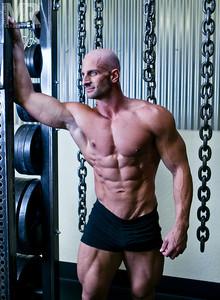 Reno photographer Marcello Rostagni photographs Fitness portrait of Bodybuilder.