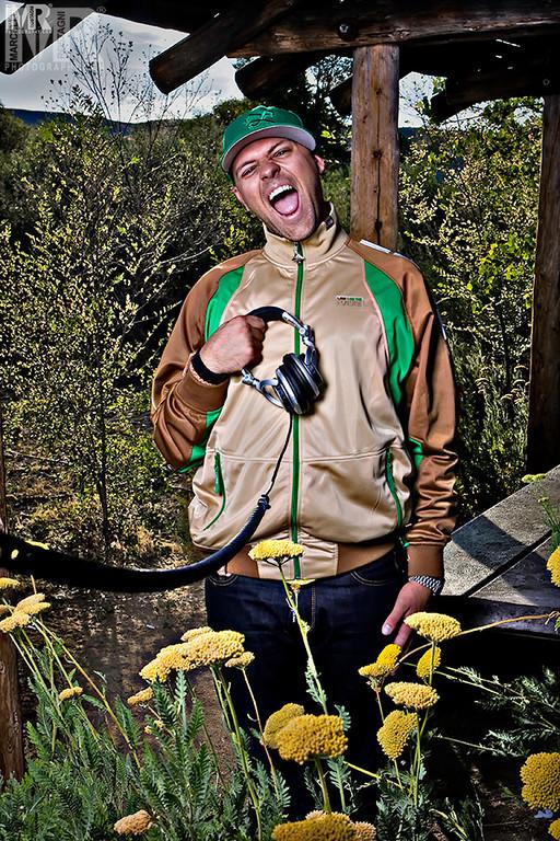 Press Kit Photographer for DJ promo material in Reno, NV.