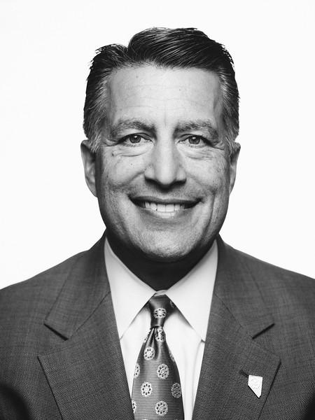 Portrait of Nevada Governor Brian Sandoval by Reno Photographer Marcello Rostagni