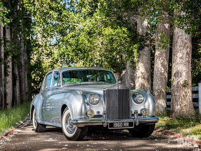 Advertisement photographer Marcello Rostagni photograph of Rolls Royce.