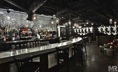 Architectural Advertising Photography of bar by Reno Photographer Marcello Rostagni.