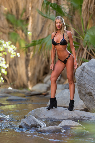Reno Photographer Marcello Rostagni Photographs Bikini Fitness Model