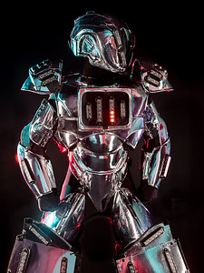 Advertisement photography of Robot by Reno Photographer Marcello Rostagni Photography.