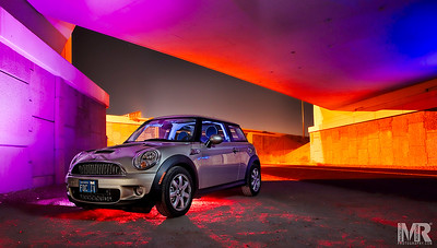 Creative colorful Automotive Photography