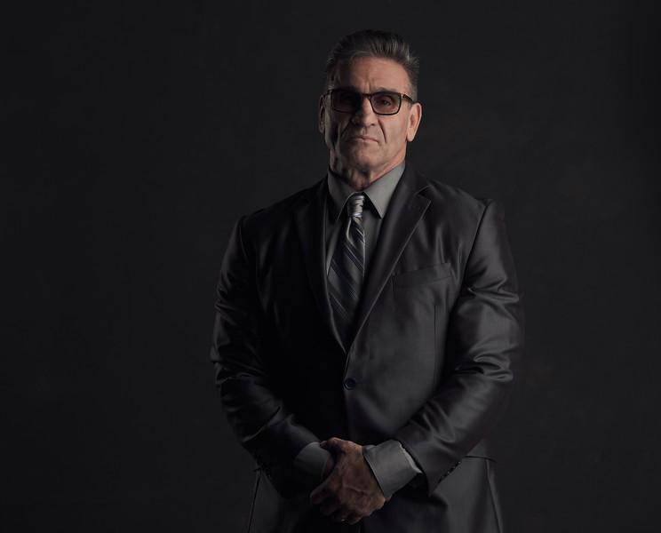 Reno Photographer Marcello Rostagni Portrait of Ken Shamrock