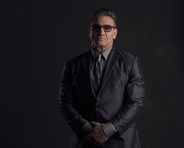 Reno Photographer Marcello Rostagni Portrait of Ken Shamrock