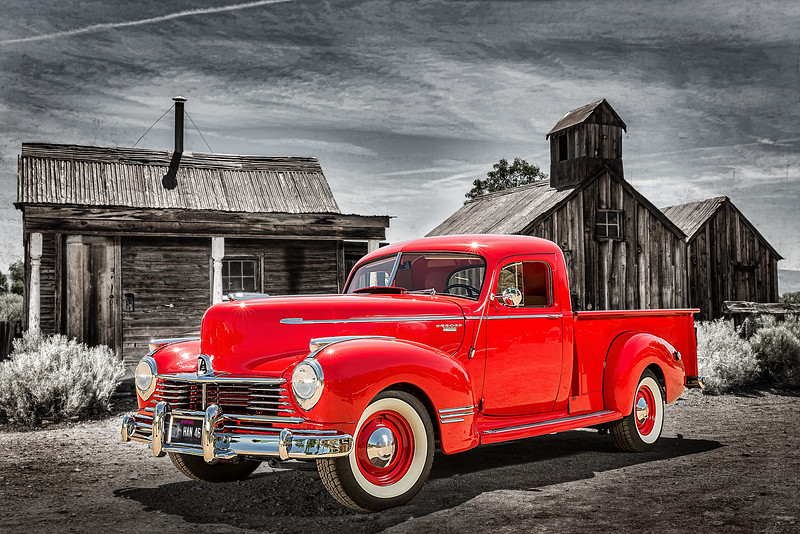 Advertisement photography created by Reno Photographer Marcello Rostagni for Classic Truck for Hot August Nights.