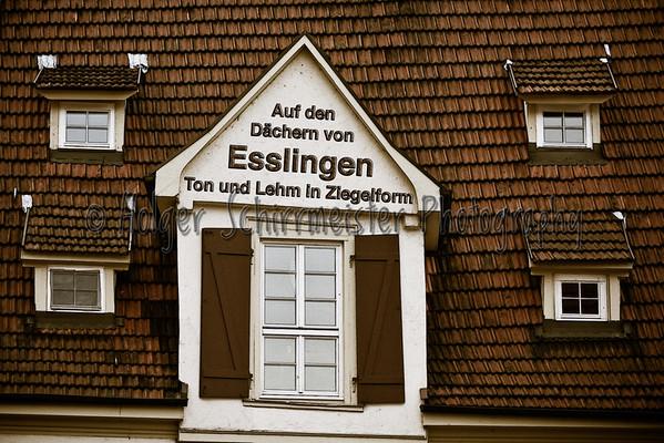 Auf den Dächern von Esslingen