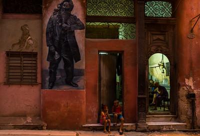 Dawn in Havana Vieja