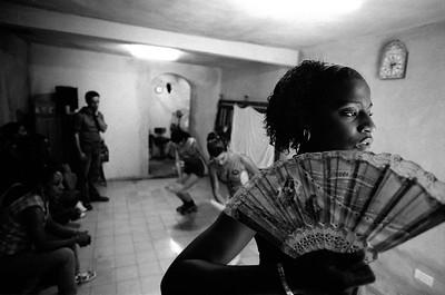 A dance rehearsal