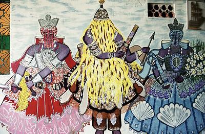 Ominidi - Orixas painting