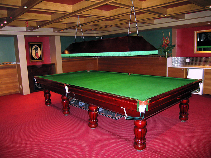 Billiard Room in Residential High Rise