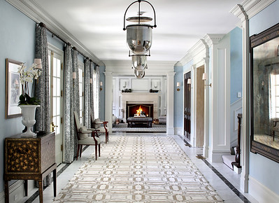 Private Residence. Entry Hall.