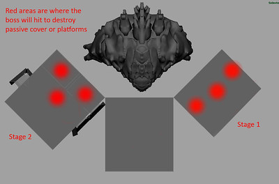 And here is the final strike positions for the Leviathan's punch and smash attacks that would eventually destroy the destructible cover props.