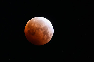 Lunar Eclipse and Blood Moon- 2021