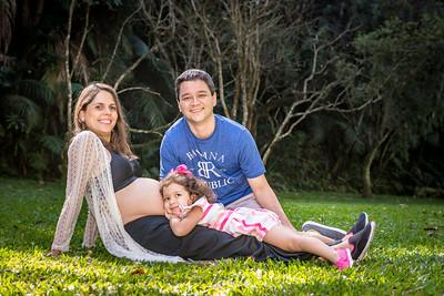 Melissa, Isabela e Gabriel