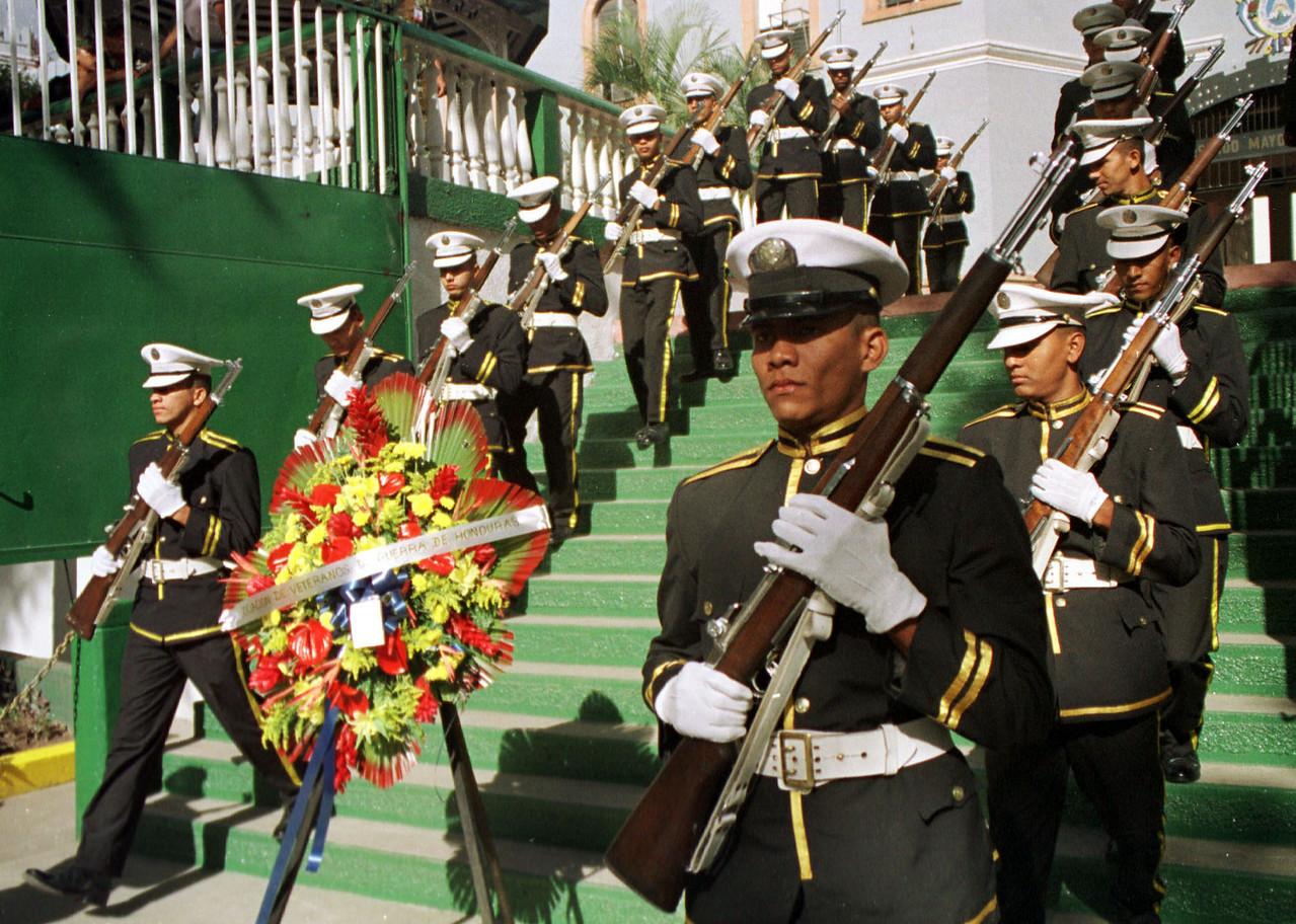 Soccer War Memorial - Honduras. REUTERS/ Adam Bernstein.