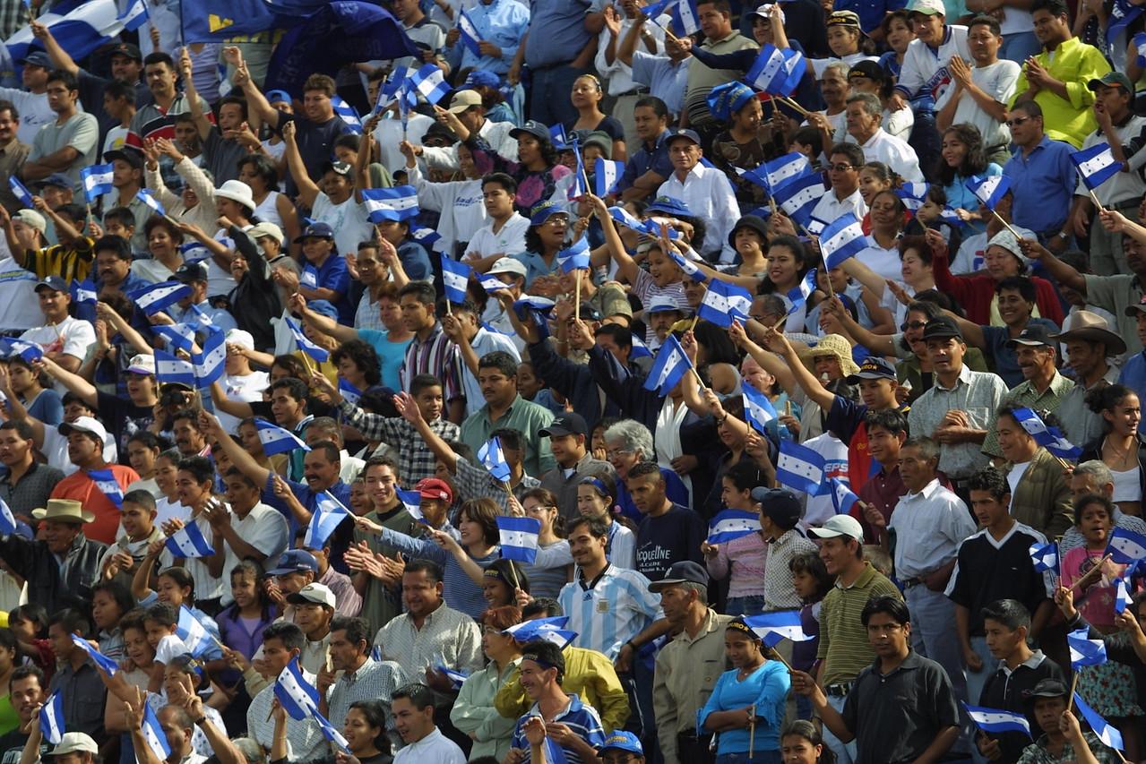 Ricardo Maduro Presidential Inauguration. REUTERS/ Adam Bernstein.