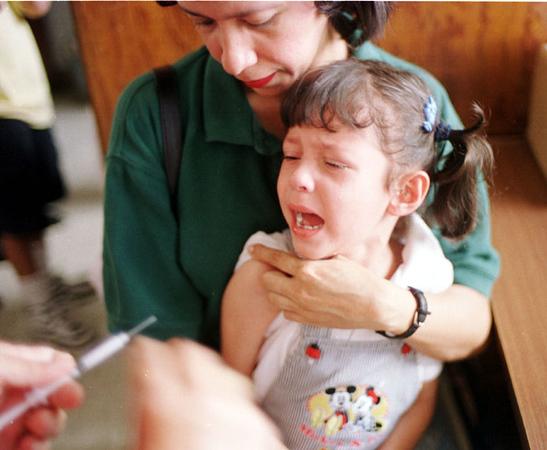 Vaccination Campaign. REUTERS/ Adam Bernstein.
