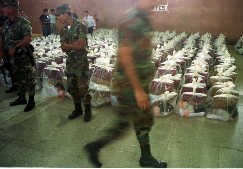 Ballot boxes prepared for distrbution - Unpublished