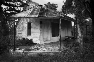 Abandoned House in Richards TX