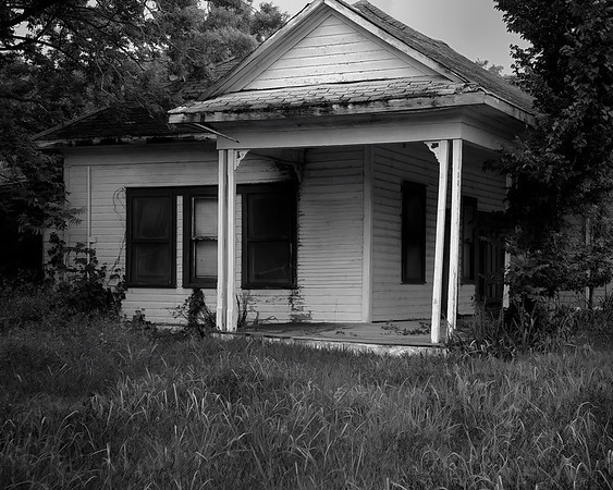 Abandoned home, Richards TX 2009