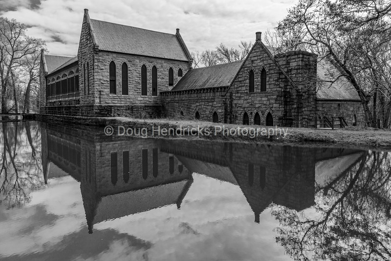 Pump House Reflection