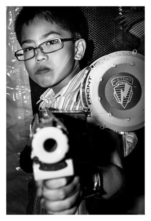 Isaac ::: Loves to shoot