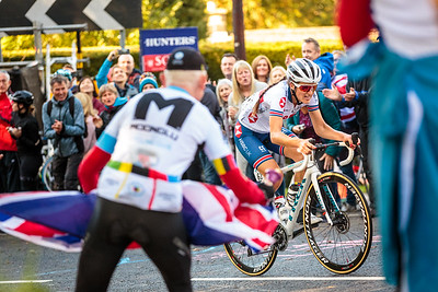 Lizzie Deignan at The 2019 Road Cycling World Championships