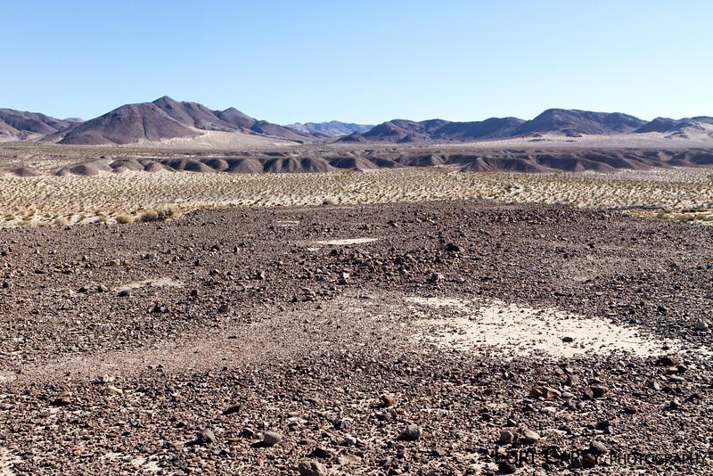 The Triangles intaglio site in the Mojave desert