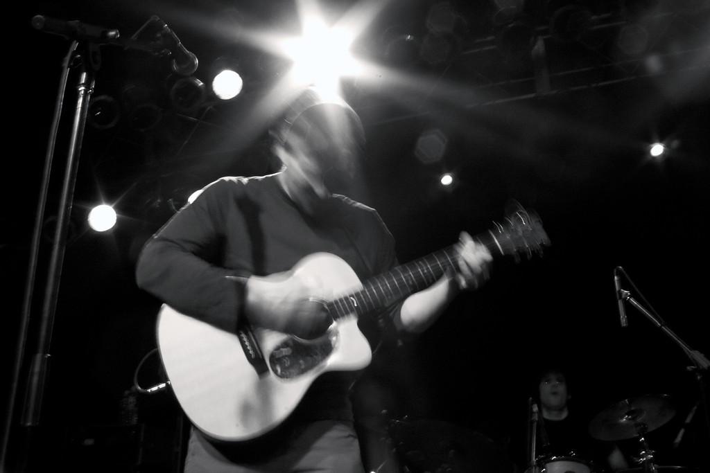 On stage with Strangefolk