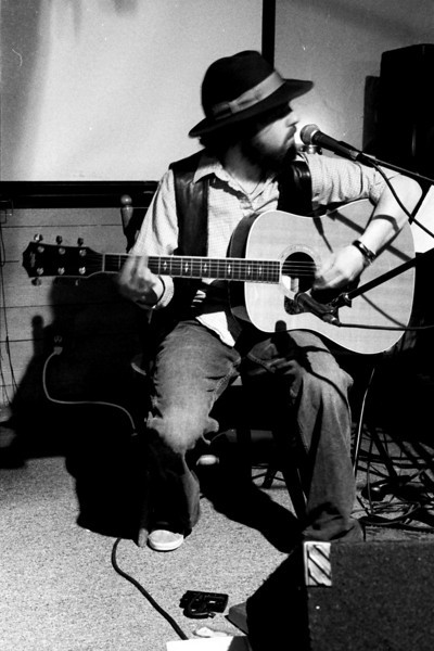 Vermont musician Jeremy Harple.