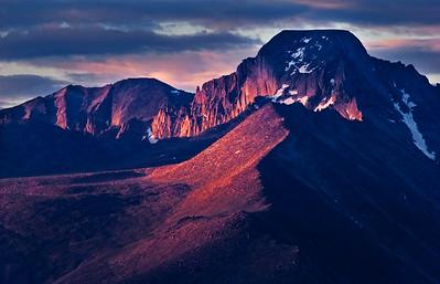 Longs Peak from North