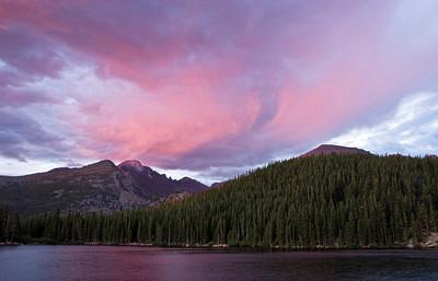 Longs Peak from Bear Lake