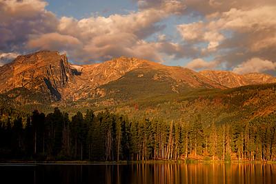 Hallett, Flattop, Bear Lake