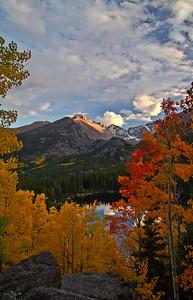 Longs Peak ,Bear Lake