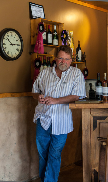 Winemaker, Applegate Valley, Oregon.