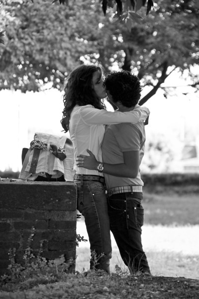 Young Love.........Lucca, Italy