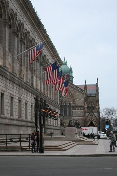 Boston, Library