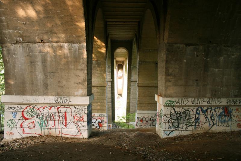 Under the bridge, Phila, Penn