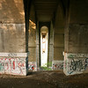 Under the bridge, Phila, Penn