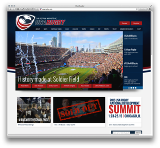 USA Rugby Homepage event photo