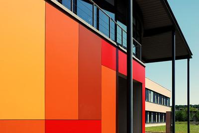 Gebäude im Gewerbegebiet von Castrop Rauxel